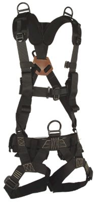 Specially designed for rapid rappel and extraction operations. The waist and sternum buckles have secondary velcro safety closure over buckles. Mil spec load bearing vest shoulder straps are sewn into the harness allowing the harness to be worn under any military load bearing vest by replacing the existing harness straps with the Stabo straps and connecting the Alice clips of the vest the the waist of the harness. Leg pouches on the harness allow for leg loops to be stowed away when not in…