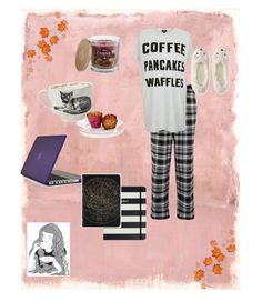 """""""fall mornings"""" by elizzy1202 ❤ liked on Polyvore featuring Rothko, DKNY, Topshop, Aéropostale, GE, SONOMA Goods for Life, Sir/Madam, Speck and Kate Spade"""