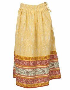 Summer Spring Spring Summer Fashion Long Skirt Printed Cotton 20