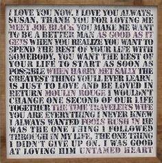 love quotes from movies...