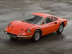 Eric Clapton  former 1969 Ferrari Dino 206 GT, which was one of the first 150 ever produced.