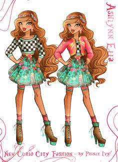 Ashlynn Ella - Ever after high Ever After High, Monster High Room, Cheerleaders, Fashion Art, High Fashion, Ashlynn Ella, Lizzie Hearts, Personajes Monster High, Mini Canvas Art
