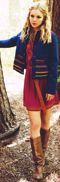 coat looks great for cold weather bohemian fashion..which is a lot harder to achieve ha