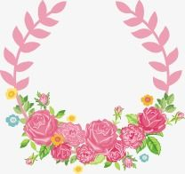 Cartoon beautiful roses border, Cartoon, Fine, Rose PNG and Vector