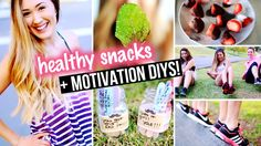 This is a very good DIY motivation thingy for people who doesn't like to exercise and eat healthy foods...