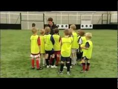 30 juegos y ejercicios de fútbol para tus sesiones con niños de 8-9 años parte 1/5 - YouTube