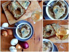 varená - pečená: Cibuľová polievka
