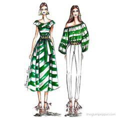 Fashion| Righe per tutte!! | http://www.theglampepper.com/2016/08/15/15425/