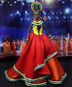 OOAK Barbie NiniMomo's Miss Kenya 2009