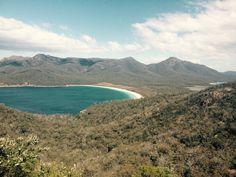 #WineGlassBay #Exploring #Taz #Tasmania