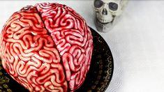 Halloween Backen, Halloween Torte, Birthday Cake, Pie, Desserts, Youtube, Delicious Snacks, Finger Food, Brain Cake