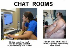funny stuff images  Be careful who you fall in love with on the internet!