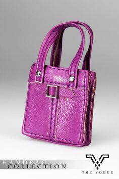 HB2003-05 The Vogue Purple Leather Designer Hobo Handbag