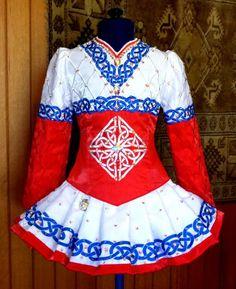 Mary Skotnicki Irish Dance Solo Dress Costume