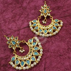 Kaynat Earrings by Indiatrend. Shop Now at WWW.INDIATRENDSHOP.COM
