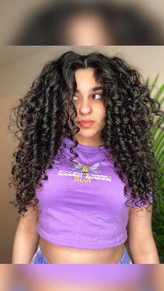 Curly 3a, Big Curly Hair, Curly Wedding Hair, Curly Hair Tips, Curly Hair Care, Curly Hair Styles, Messy Curls, Curly Hair Problems, Natural Curls