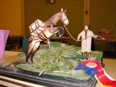 Braymere Custom Saddlery -  Mule rearing