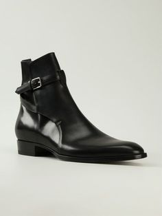 Handmade men black jodhpurs ankle boot, Men ankle high leather boots sold by Leather Art Shop more products from Leather Art 2020 on Storenvy, the home of independent small businesses all over the world. High Leather Boots, Leather Men, Black Boots, Calf Leather, High Ankle Boots, Shoe Boots, Men's Boots, Black Outfit Men, Look Man