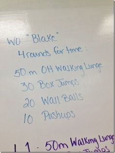 Or just a good one to do at the gym!