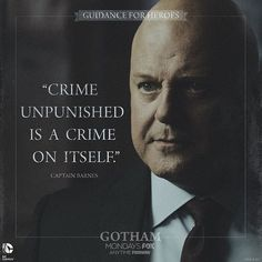 People of #Gotham, meet your new boss. #GuidanceForHeroes