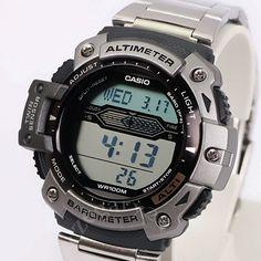 e9d83f86c59 ZEGAREK CASIO barometr termometr wysokosciomierz