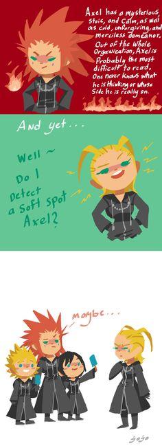 Axel week: personality trait by jojo56830 on DeviantArt