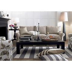 Olin Grey Rug in Area Rugs | Crate and Barrel - new living room rug