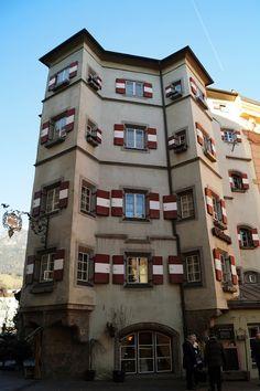 Innsbruck, Austria Innsbruck, Austria, Multi Story Building, Travel, Viajes, Destinations, Traveling, Trips