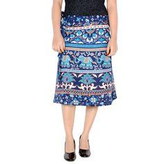 Sttoffa 24 Inch Length Wrap Around Rajasthani Skirt D6