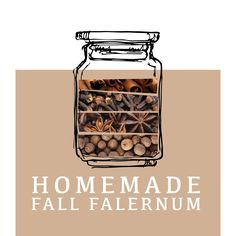 DIY FALERNUM RECIPE (yields about 2 cups)