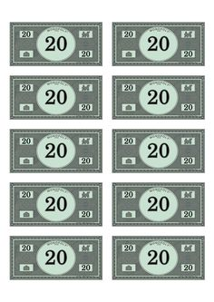 photograph regarding Monopoly Money Printable referred to as 7 Ideal Gaming visuals within just 2017 Monopoly revenue, Economical