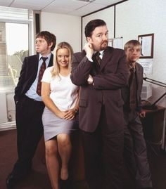 The Office UK. Brilliant show. Much better than NBC Movies Showing, Movies And Tv Shows, British Tv Comedies, British Comedy, Office Uk, Ricky Gervais, Uk Tv, Tv Show Quotes, Comedy Tv