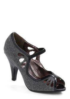 Sharp Wit Heel- Modcloth $44.99