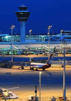 Best Munich Airport by Night