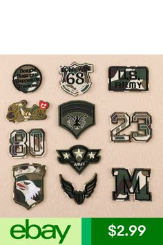Camo Army Print Embroidered Patch Airsoft Team Patch or Club 9cm LOGO