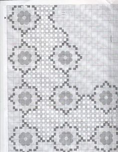Hardanger Embroidery, Embroidery Stitches, Needle Lace, Cross Stitch, Kids Rugs, Album, Christmas Ornaments, Simple, Crochet Flowers