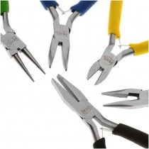 Beadsmith Deal! Jewelry Beading Color I.D. Economy Pliers 5 Piece Set! Part 93