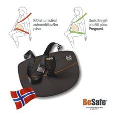 BeSafe Pregnant iZi fix bezpečnostní pás Flip Flops, Sandals, Men, Shoes, Automobile, Shoes Sandals, Zapatos, Shoes Outlet, Beach Sandals