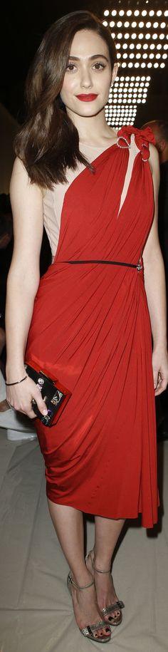 Emmy Rossum - Lavin Fashion Show #PFW