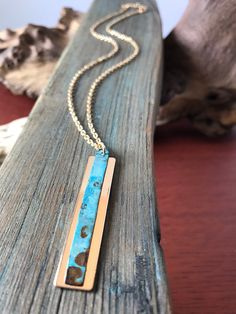 Excited to share the latest addition to my shop: Turqoise Patina Copper and Gold Pendant DriftwoodDandies. Arrow Necklace, Pendant Necklace, Dandy, Gold Pendant, Driftwood, Turquoise Necklace, Copper, Etsy Shop, Trending Outfits
