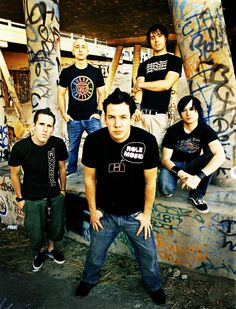 Simple Plan (1999-present): Pierre Bouvier, Chuck Comeau, Jeff Stinco, Sébastien Lefebvre & David Desrosiers