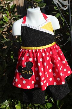 Disney World Mickey Mouse or Minnie Mouse by Redbritchesboutique, $60.00