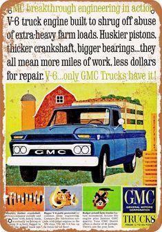1966 Chevy Truck, Classic Chevy Trucks, New Trucks, Pickup Trucks, Farm Trucks, Vintage Advertisements, Vintage Ads, Vintage Looks, Vintage Items
