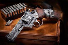 POTD: One Of A Kind Engraved Nighthawk Korth Revolvers - The Firearm BlogThe Firearm Blog
