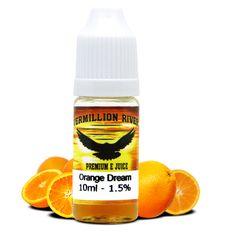 New flavour - Orange Dream by Vermillion River  http://www.ecigwizard.com/e-liquid/vermillion-river/orange-dream.html