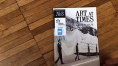 ART AT TIMES, materiale didattico.   Pieghevoli coordinati alle prime 3 video lezioni (Pivi, Kuri, Macuga)   Graphic design by Studio Lulalabò