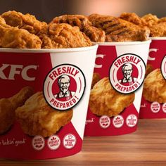 KFC started by Colonel sanders at his gas station is now the second largest fast food franchise in the world. Let's dig some interesting facts about KFC. Kfc Chicken Recipe, Fried Chicken Recipes, Grilled Chicken, Crispy Chicken, Chicken Seasoning, Pollo Frito Kfc, Kentucky Fried Chicken, Kfc Coupons, Pizza Coupons