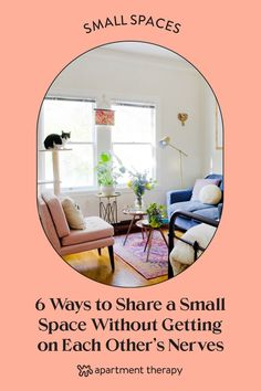 Here are six ways to respect other people's boundaries and your own, if you share a small space. Small Space Bedroom, Small Space Office, Small Space Storage, Small Space Kitchen, Small Space Organization, Small Laundry Rooms, Small Space Living, Small Spaces, Small Hallways