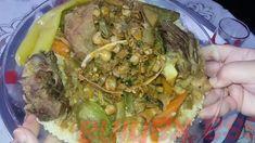 couscous bel 3osbane   كسكسي بالعصبان Couscous, Cabbage, Vegetables, Food, Essen, Cabbages, Vegetable Recipes, Meals, Yemek