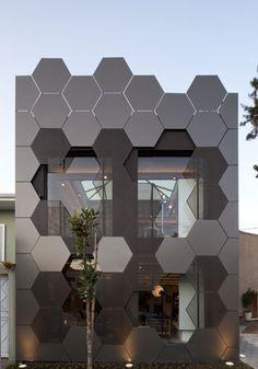 SuperLimão Studio's honeycomb-like showroom for Estar Móveis in São Paulo / Wallpaper* Magazine